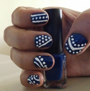 simple nail art stepstep for beginners