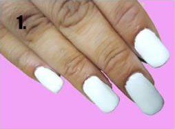 Nail Art Tutorial Step by Step 1