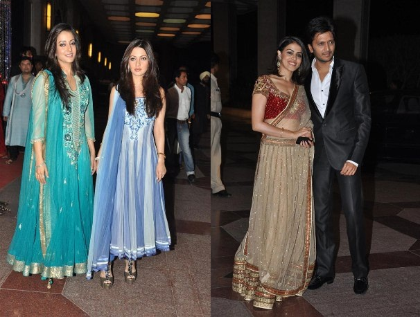 Esha Deol Sangeet Ceremony Attendees