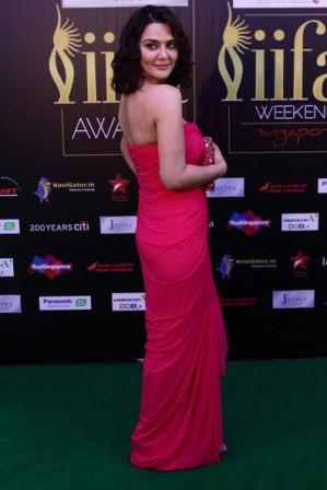 Preity _Zinta _at_IIFA_Awards_2012