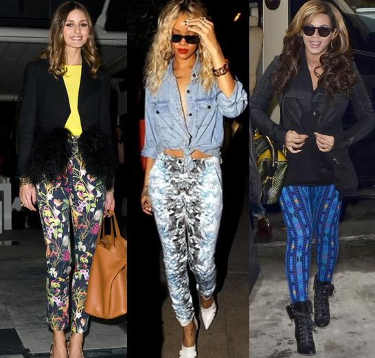 Olivia_Rihanna_Beyonce_in_Patterned_Pants