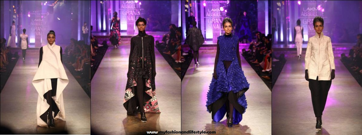 Pankaj & Nidhi_at_Lakme_Fashion_Week_2012