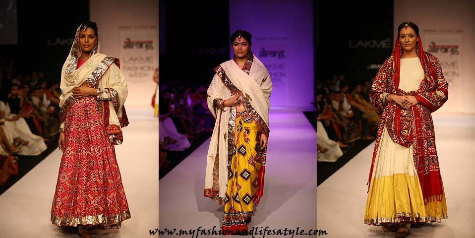 Our Favourite Gaurang S Patan Patola Collection At Lakme Fashion Week 2013