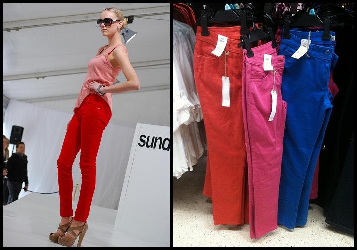 Coloured-Denims-Trend