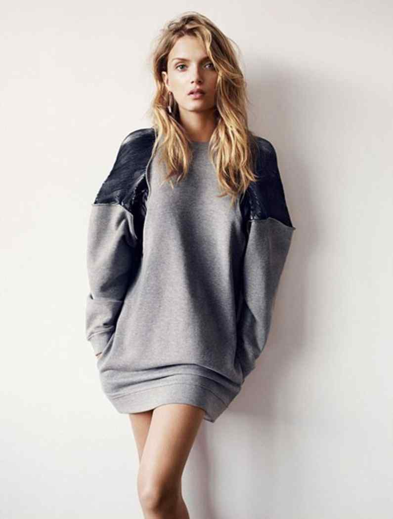 Oversized Sweaters Trend