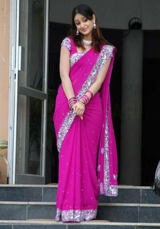 Traditional -Style-Saree