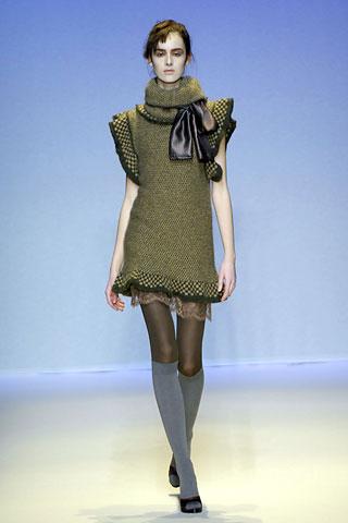 Winter Sweater Dress