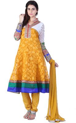 Floral Print Anarkali Suit