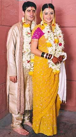 Hiten Tejwani & Gauri Pradhan Wedding pic