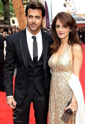 Hrithik Sussanne Stylish Couple