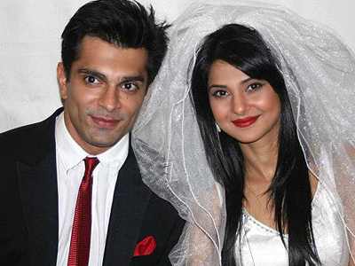Karan Singh Grover & Jennifer Winget Wedding pic