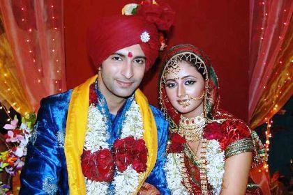 Rashmi Desai and Nandish Sandhu Wedding pic