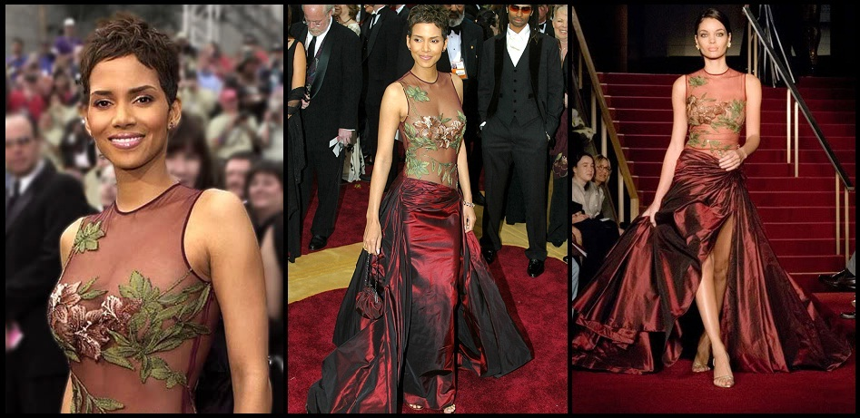 Halle Berry in Elie Saab Oscars Dress